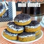 Pumpkin Oreo Donuts