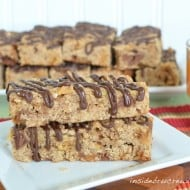 Caramel Apple Granola Bars