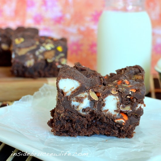 fluffernutter fudge brownies2