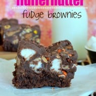 Fluffernutter Fudge Brownies