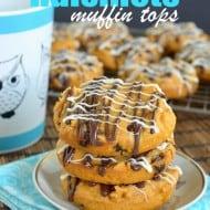 Pumpkin Raisinets Muffin Tops
