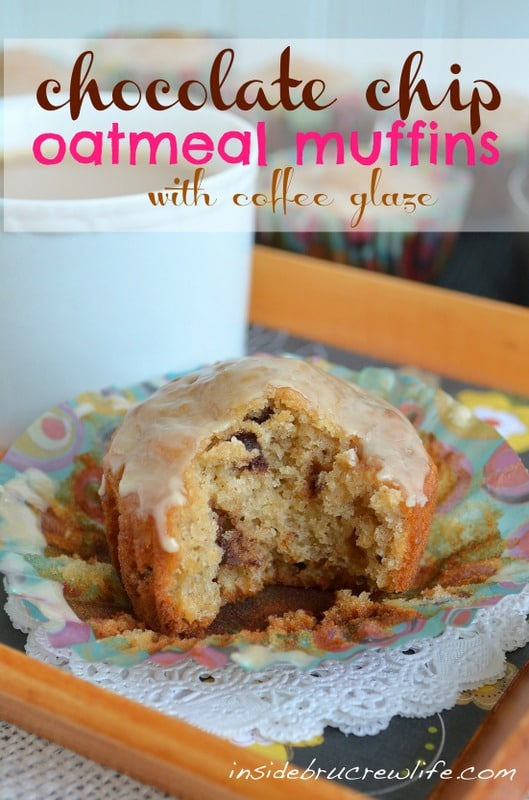 These soft breakfast muffins are just like eating cookies for breakfast!  Gotta love that!