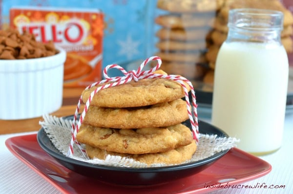 cookies made with gingerbread pudding