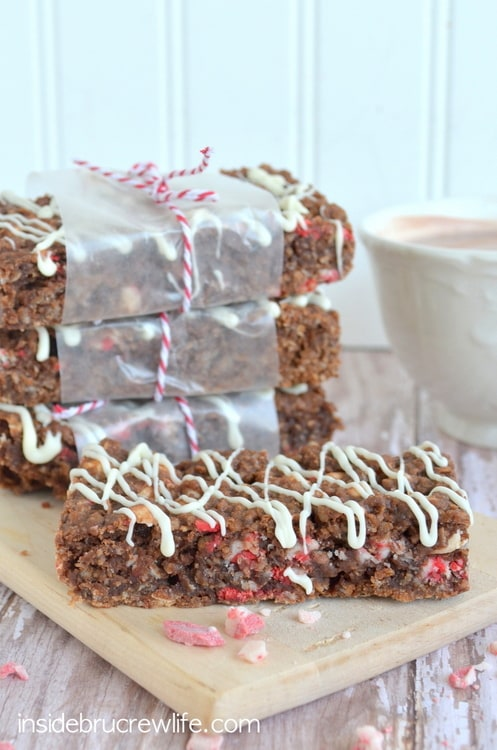 Peppermint Hot Chocolate Granola Bars 11-2
