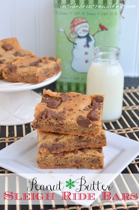 Butterfinger peanut butter bars