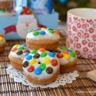 Baked Biscoff M&M Donuts