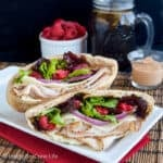 Raspberry Chipotle Turkey Pita