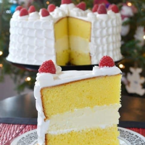 cheesecake with lemon cake