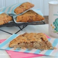 Banana Toffee Scones