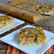 Broccoli and Cheese Egg Casserole