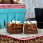 Caramel Hot Chocolate Fudge