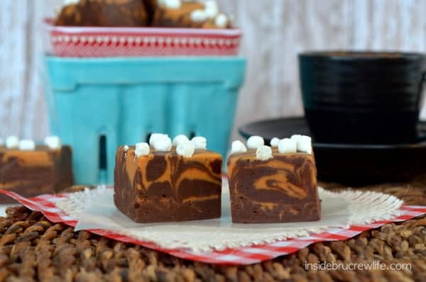 Caramel Hot Chocolate Fudge