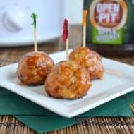 Apple Chicken Meatballs Recipe