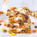 Marshmallow Reese's Blonde Brownies