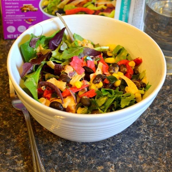 fresh, healthy lunch