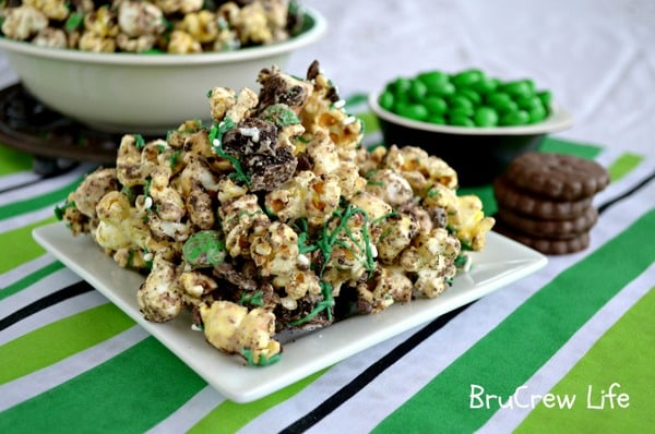Fudge Mint Popcorn