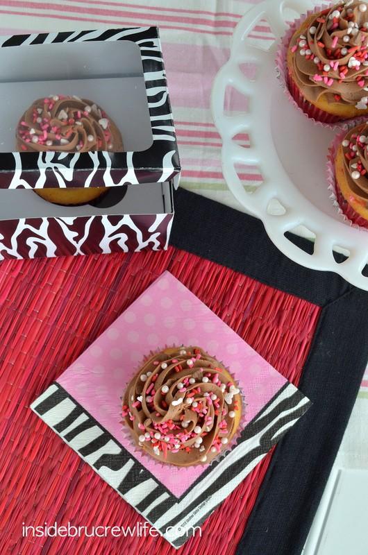 Funfetti Nutella Cupcakes