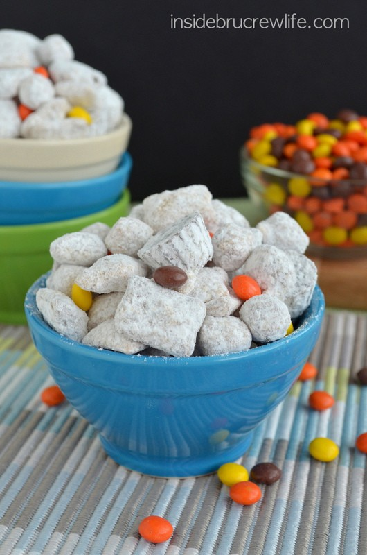 Peanut Butter Cup Puppy Chow
