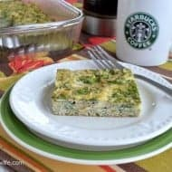 Spinach Artichoke Egg Casserole