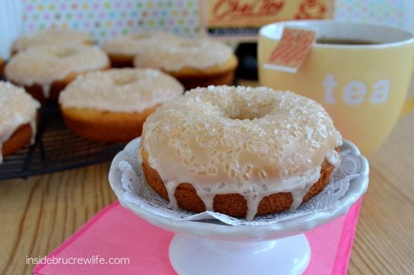 Vanilla Chai Bake Donuts, Bigelow Tea, Walmart, #americastea