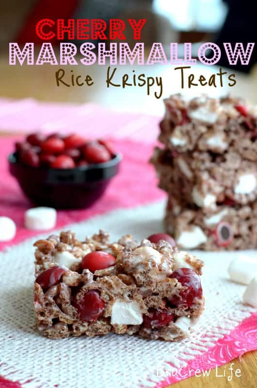 cherry marshmallow krispies1