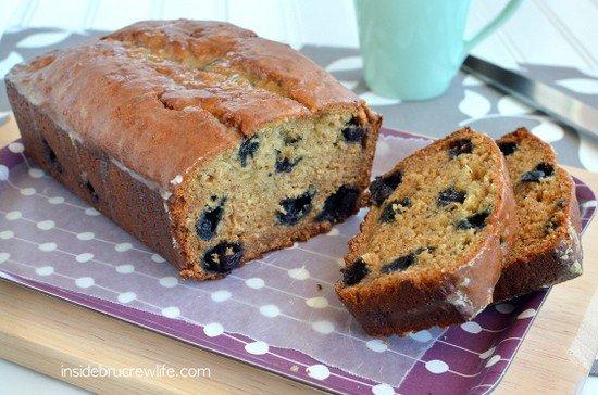 Blueberry Banana Bread 11
