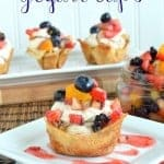 Fruit Salsa Yogurt Cups
