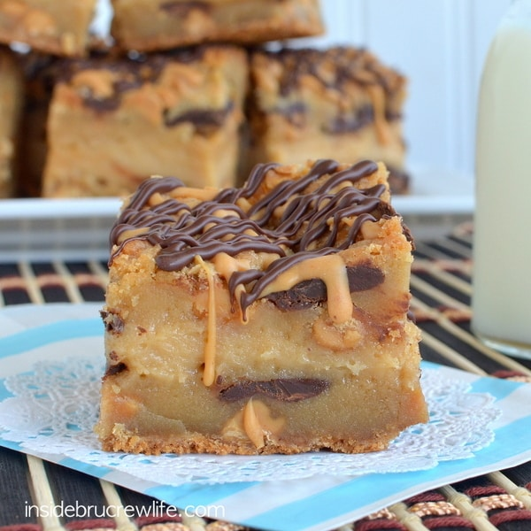 Peanut Butter Cheesecake Cookie Bars 10