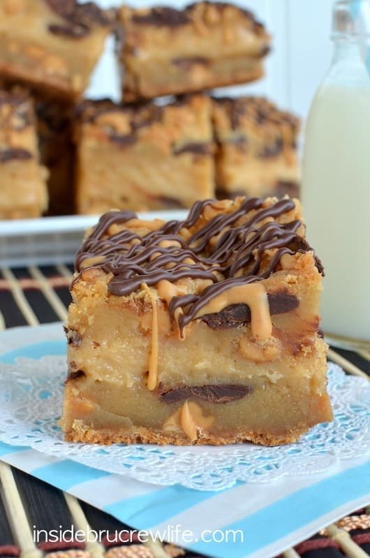Peanut Butter Cheesecake Cookie Bars 3