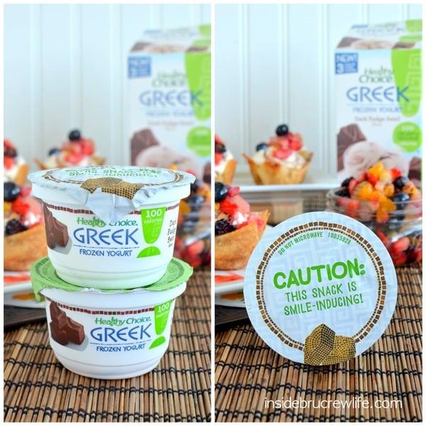 Healthy Choice, Greek Frozen Yogurt