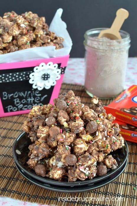 Brownie Batter Cookie Dough Popcorn 5