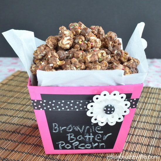 Brownie Batter Cookie Dough Popcorn 7