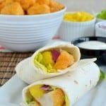 Mango Habanero Chicken Wraps #GiveMeWyngz