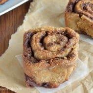 Mocha Chip Cinnamon Rolls