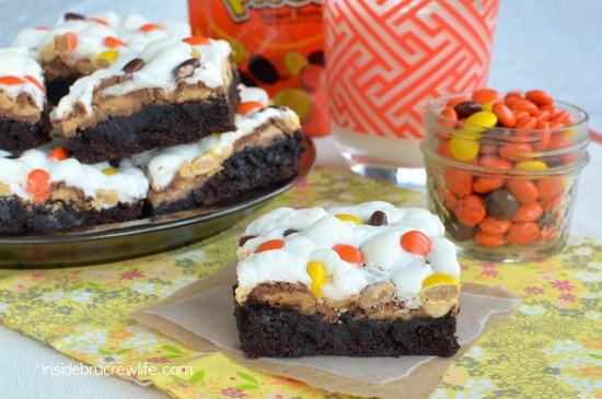 Reese's Rocky Road Brownies 5
