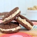 Reese's White Chocolate Brownie Whoopie Pies