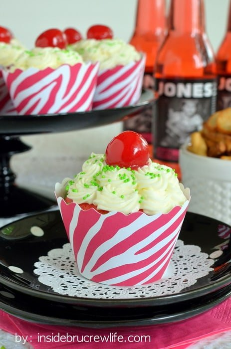 Cherry Lime Cupcakes | Inside BruCrew Life