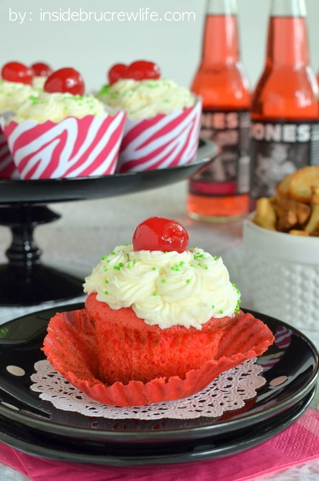 Cherry Lime Cupcakes 5