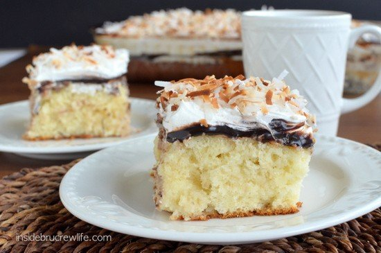 Coconut Fudge Poke Cake 5
