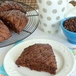 Triple Chocolate Scones