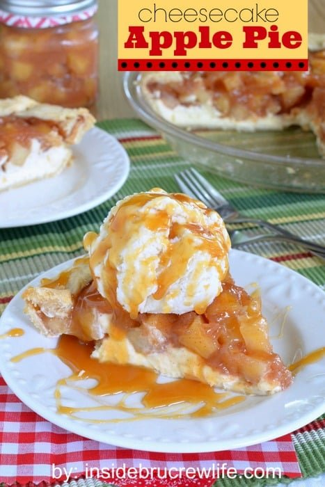 Cheesecake Apple Pie title 2