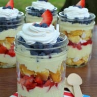 Lemon Mousse Fruit Parfaits