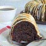 Salted Caramel Mocha Bundt Cake