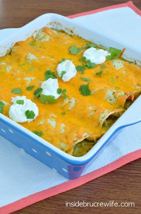Chicken Enchiladas 3