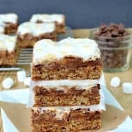 Oatmeal S'mores Bars