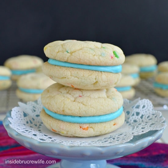Cotton Candy Whoopie Pies 4