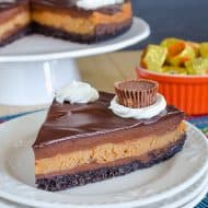 Best Peanut Butter Cup Cheesecake