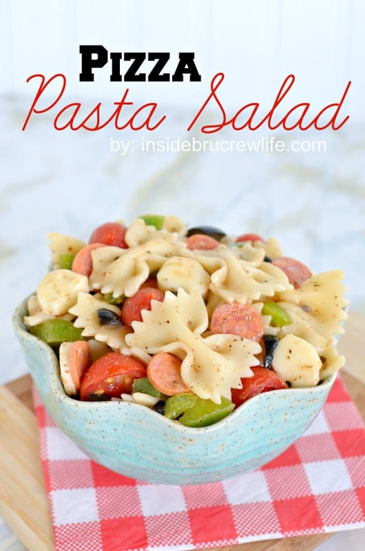 Pizza Pasta Salad title