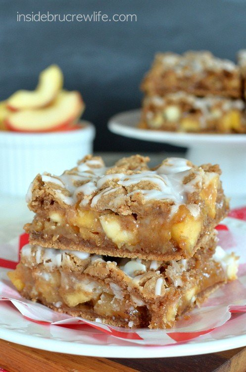 Caramel Apple Bars 6