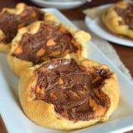 Pumpkin Nutella Cheesecake Danish